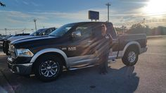 BEVERLY's new 2013 RAM  1500! Congratulations and best wishes from Benny Boyd Motor Company - Marble Falls and DEE NIXON.