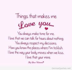 10 Best Romantic Love Quotes For Him | Best Loves Quotes