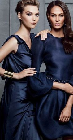 Arizona Muse & Joan Smalls for Estee Lauder fall/winter 2013  #RePin by Dostinja - WTF IS FASHION featuring my thoughts, inspirations & personal style -> http://www.wtfisfashion.com/