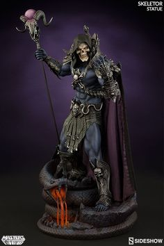 Awesome Skeletor statue from Sideshow Collectibles.