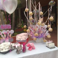 Mesa de dulces Baby shower  #Bb Elefante #Sofy