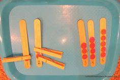 School Time Snippets: Clip Sticks Counting Activity for Toddlers Counting Activities For Preschoolers, Preschool Centers, Educational Activities For Kids, Autumn Activities, Classroom Activities, Toddler Activities, Preschool Activities, Kids Learning, Travel Activities