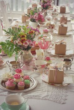 Image result for teapot table decorations
