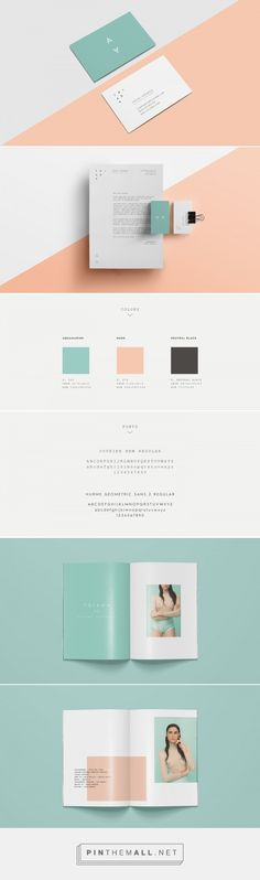 TRIADA // Fashion Collection // Branding
