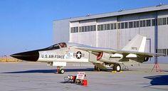 USAF AFFTC General Dynamics F-111A Aardvark, 1969.