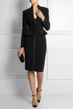 Too chic to be just an office outfit