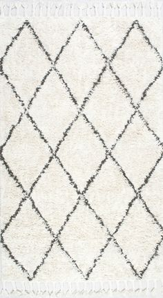Marrakesh Shag Natural Rug | Contemporary Rugs