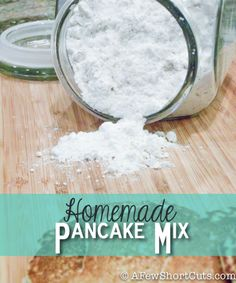 It never fails. The kids want pancakes, or you are trying to make biscuits for with dinner and you ...