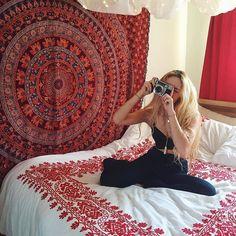 Wunderbar Tumblr Zimmer, Schlafzimmer Für Teenager, Schlafzimmer Ideen, Hippie  Zimmer, Tapisserie Wandgehänge