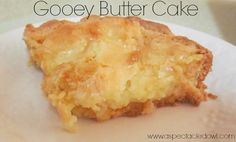 St Louis Gooey Butter Cake Reworked (unprocessed And Gluten Free ...