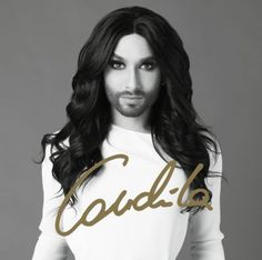 """Die ESC Gewinnerin Conchita Wurst bezaubert mit ihrer starken Stimme auf dem Album """"Conchita"""" #esc #conchitawurst #musik #weltbild"""