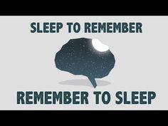 Les bienfaits d'une bonne nuit de sommeil - Shai Marcu - YouTube