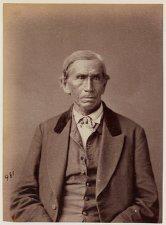 Matthew Mud Eater - Huron/Wyandot - 1875
