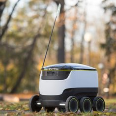 Grocery-delivering robots by Skype co-founders will be tested in London next year.