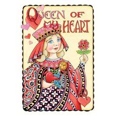 Queen Heart Valentine Card