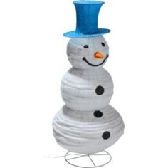 Buy Pop Up Snowman Outdoor Christmas Decoration at Argos.co.uk - Your Online Shop for Christmas lights.