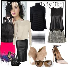 Katy Perry's Closet by bjigg on Polyvore featuring Mlle Mademoiselle, Ann Demeulemeester, Kokoon, rag & bone/JEAN, Roberto Cavalli, Jitrois, Thakoon Addition, T By Alexander Wang, Enzo Angiolini and Dsquared2