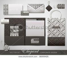 Elegant Corporate Design. Vector Illustration. - 86009425 : Shutterstock