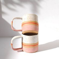 Michelle Luu Pottery ceramic mugs