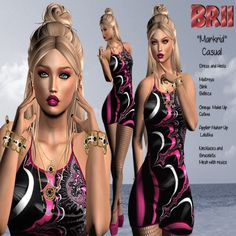 Makrid Complete Outfit Group Gift Makrid complete outfit from Brii, free group gift. Includes the dress, bracelet, heels, necklace, tights and makeup. Group: Free to [...]
