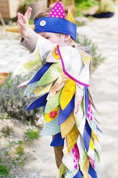 de rerum natura: Magnifique costume d'oiseau de paradis pour le Carnaval