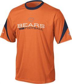 Chicago Bears NWT sideline inverter performance crew shirt Reebok NFC small  NFL  ChicagoBears  Bears 32e1a3691523c