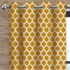 Bed rooom curtains. These are so pretty in person.  Colordrift Morocco Grommet-Top Curtain Panel - jcpenney