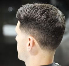 The gentleman haircut is a classic and clean cut look. It usually has a side part but can also be combed over to one side without a defined part. Update the gentleman with a fade haircut Short Taper Haircut, Short Shag Hairstyles, Side Part Hairstyles, Fade Haircut, Trending Hairstyles, Short Hair Cuts, Short Hair Styles, Tapered Haircut Men, Cool Mens Haircuts