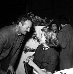 David Niven and Rita Hayworth