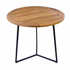 Mese - Masa rotunda pentru exterior la numai 328.00RON 80cm Table, Furniture, Home Decor, Decoration Home, Room Decor, Tables, Home Furnishings, Home Interior Design, Desk