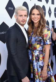 Nico Tortorella and Sutton Foster at the TV Land Awards. Watch Sutton and Nico in the latest episode of Younger at http://www.tvland.com/shows/younger.