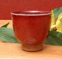 Chun Red Yunomi by D. Michael Coffee  cone 10-reduction  Feldspar (potash)    43.40 Flint    27.27 Dolomite    9.37 Gerstley Borate    9.37 Barium Carb.    4.54 Whiting    2.56 EPK    1.70 Zinc Oxide    1.70 Bentonite    4.54 Add: Tin Oxide    2.55 Copper Carb.    3.12 Red Iron Oxide    0.85