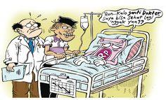 Mice Cartoon, Rakyat Merdeka - Juli 2015: Rupiah Cari Dokter?
