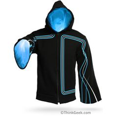 Wanna be a  Mage, Wizard, Sorcerer, Illusionist, Enchanter, or Necromancer? Well with the Tecnomancer Digital Wizard Hoodie from Think Geek now you can!!