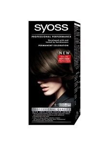 syoss color professional permanent coloration 4 1 medium brown hair color - Syoss Coloration