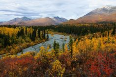 Wrangell-St. Elias National Park & Preserve in Alaska is the largest national park in the U.S. Four mountain ranges run through it, with nine of the 16 highest peaks in the country.