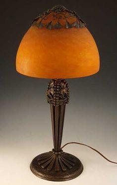 Edgar Brandt lámpara