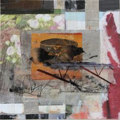 "Saatchi Art Artist: Joan Schulze; Paper 2012 Collage ""CEREMONY"""