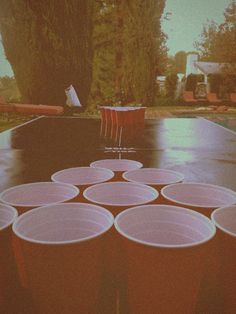 Beer pong, a game day must