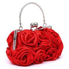 7efc71d2ba6 satin Hot Fashion Floral Ladies day Clutch Bag Women Evening Party Prom  Bridal. Floral Clutch BagsFloral ClutchesEvening ...