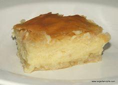 A Greek Recipe - Galaktoboureko — Larger Family Life
