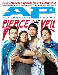 We have the exclusive story behind PIERCE THE VEIL's new album Misadventures, as well as the limited-run cover art edition. As if that's not enough, we caught up with SLEEPING WITH SIRENS and THE USED