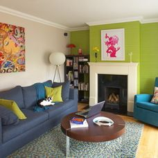 Eclectic Living Room by Think Contemporary