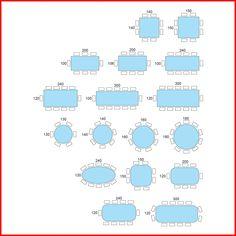 medidas de mesas cuadradas para 12 personas - Buscar con Google ...