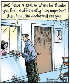 Cartoons about doctors Medical Dental, Medical Humor, Cartoon Jokes, Cartoons, Bizarro Comic, Comics Kingdom, Deep Art, Jokes Pics, Art Memes