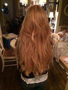 Die neue do Brittni Pam - - New Haircut - Hochzeit Haare Beautiful Long Hair, Gorgeous Hair, Medium Hair Styles, Curly Hair Styles, Strawberry Blonde Hair, Dye My Hair, Aesthetic Hair, Ginger Hair, Pretty Hairstyles