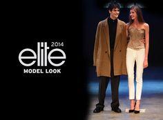 Vítězové světového finále Elite Model Look 2014: Barbora Podzimková (Česká republika) a James Richard Parker (Itálie) Elite Model Look, Modeling, Coat, Movies, Movie Posters, Jackets, Fashion, Down Jackets, Moda