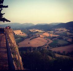 Camerino, Italy... veduta dalla rocca borgesca...