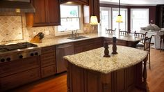 Giallo Napole Granite Kitchen Countertops