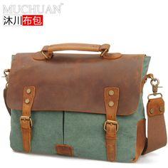 vintage messanger shoulder bag/briefcase for women